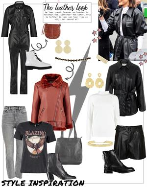 THE LEATHER TREND