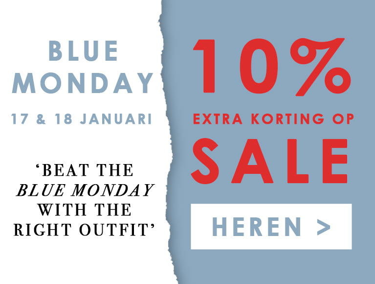Blue Monday heren