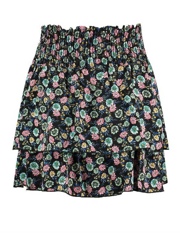 Colourful Rebel Daphne Flower Two Layer Skirt 10141