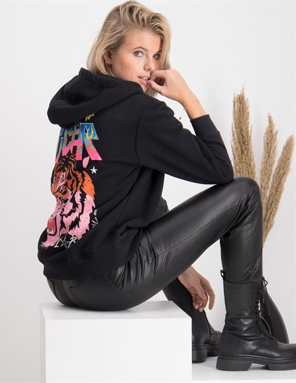 Colourful Rebel Easy Tiger Club Nina Oversized Hoodie 9355