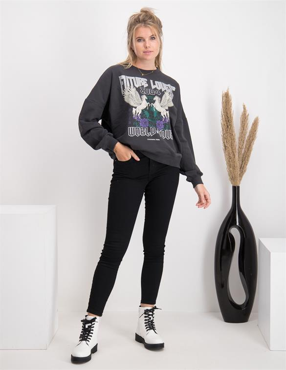 Colourful Rebel Future Lovers Nina Dropped Shoulder Sweater 9353