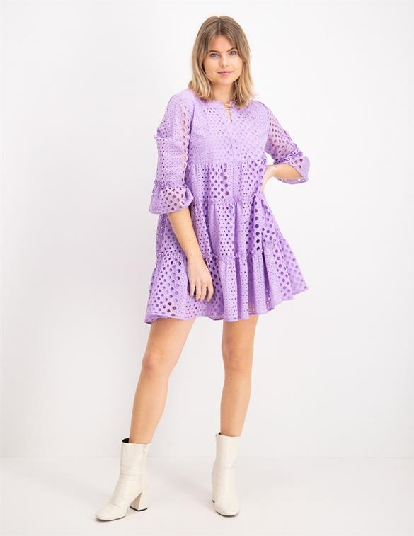Colourful Rebel Indy Broderie Anglaise Boho Dress 10136