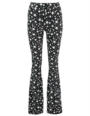 Colourful Rebel Jolie Star Flare Pants 9141