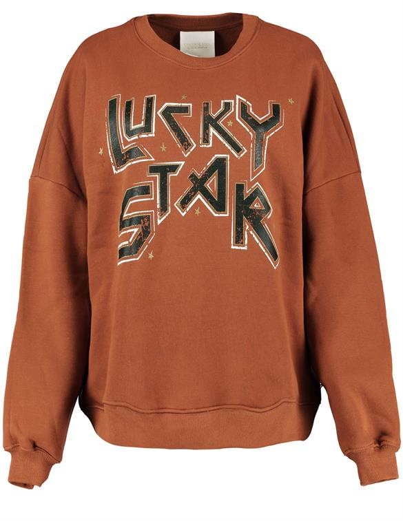 Colourful Rebel Lucky Star Dropped Shoulder Sweater 9214