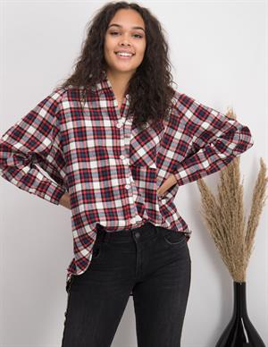 Colourful Rebel Maartje Big Check Blouse 9104