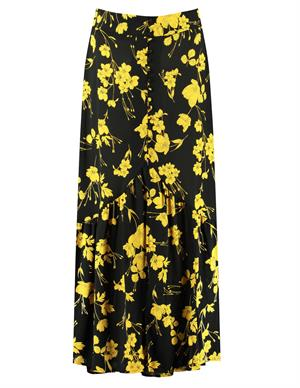 Colourful Rebel Rive Flower High Low Skirt 9035