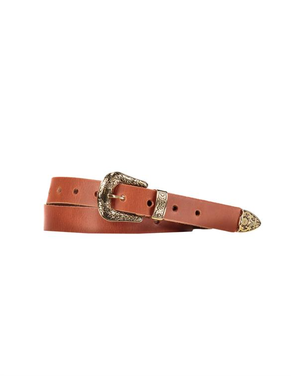 Elvy 30839 Plain Belt Women