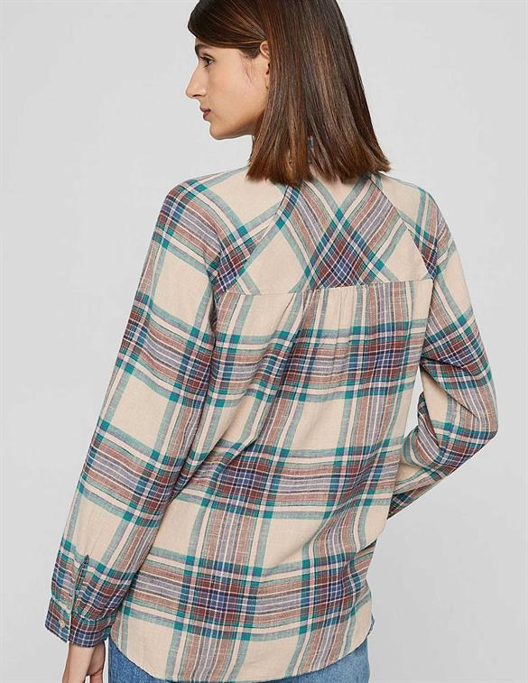 Esprit casual BCI checkblouse 101EE1F324