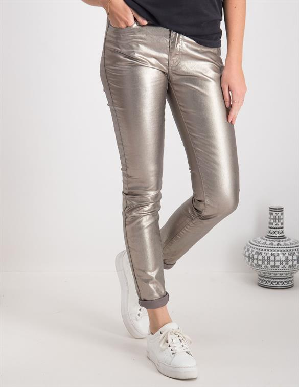 Geisha 5-pocket metallic 01517-10