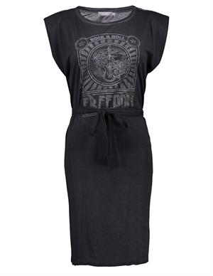 Geisha Dress rock&roll & strap at waist 17170-41