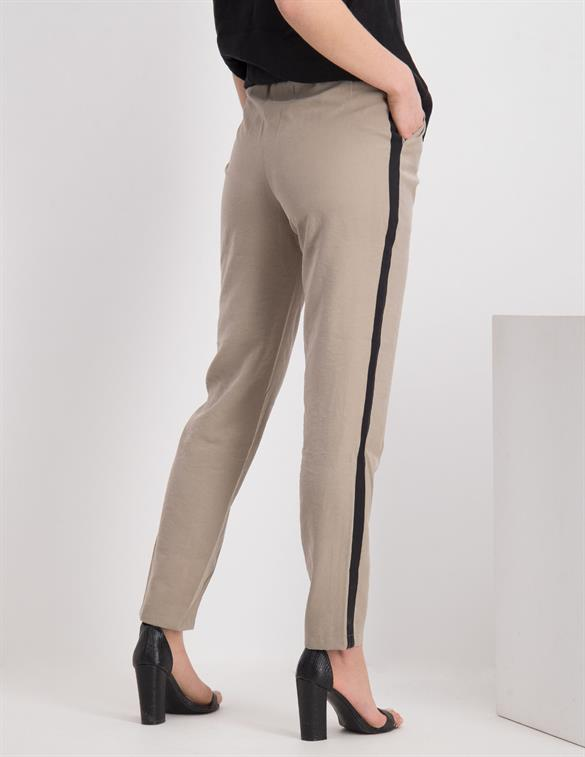 Geisha Pants elastic waistband with stripe 01136-20