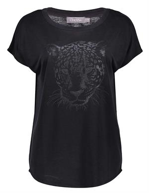 Geisha T-shirt tiger head s/s 12087-25