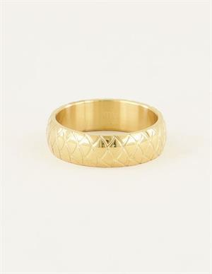 My Jewellery Brede ring schubben MJ03388