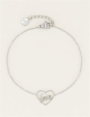 My Jewellery Moments bracelet love MJ03059