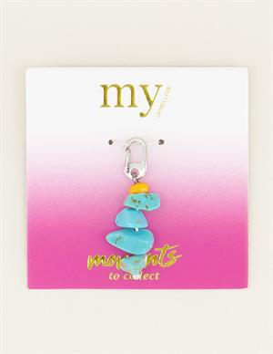 My Jewellery Moments charm blue stone MJ03032
