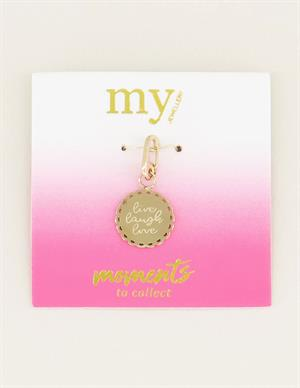 My Jewellery Moments charm live laugh love MJ03047