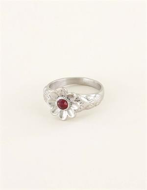 My Jewellery Ring bloem met steen MJ03809