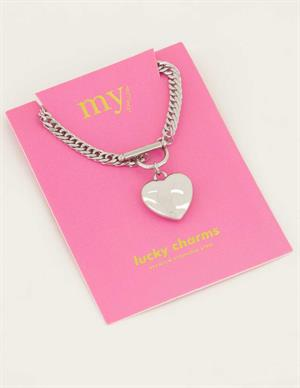 My Jewellery Schakelketting hart MJ04494