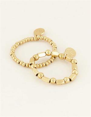 My Jewellery Stretch ringen set MJ04332