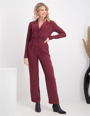 Nakd Belted Straight Leg Jumpsuit B 1018-005404-0212-