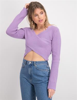 Nakd Crossover Sweater Crossover Sw 1018-006302-0368-