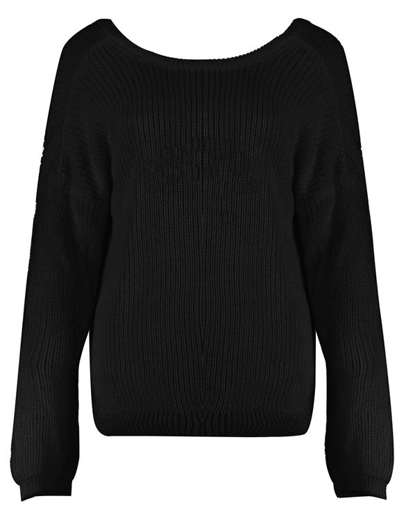 Nakd Knitted Deep V-neck Sweater Kn 1100-000412-0002-