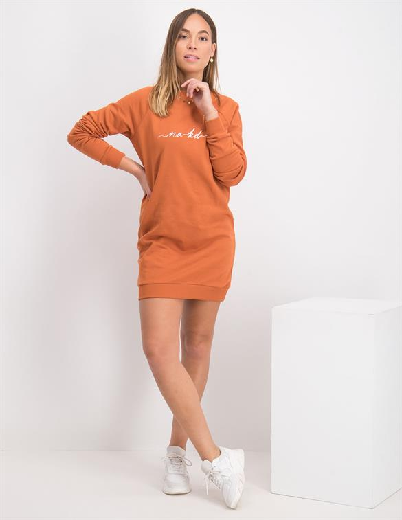 Nakd NA-KD Logo Sweater Dress NA-KD 1018-004578