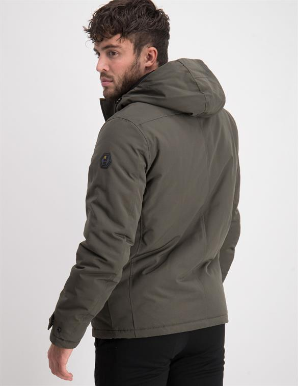 No Excess Jacket Hooded Padded Double Front C 97630813