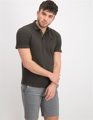 No Excess Polo Solid Jacquard 11370307
