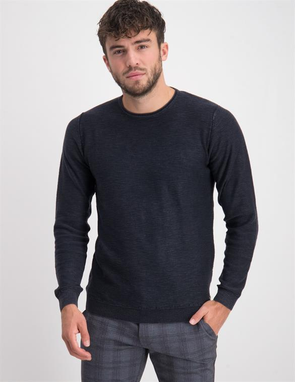No Excess Pullover Crewneck Slub Stone Washed 97230801SN