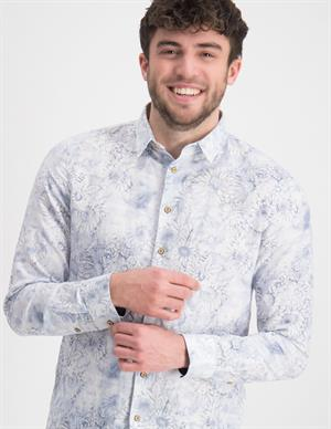 No Excess Shirt All Over Printed with Linen 11410222
