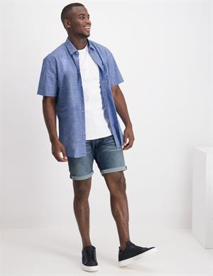 No Excess Striped Short Sleeve Stretch 95420218D