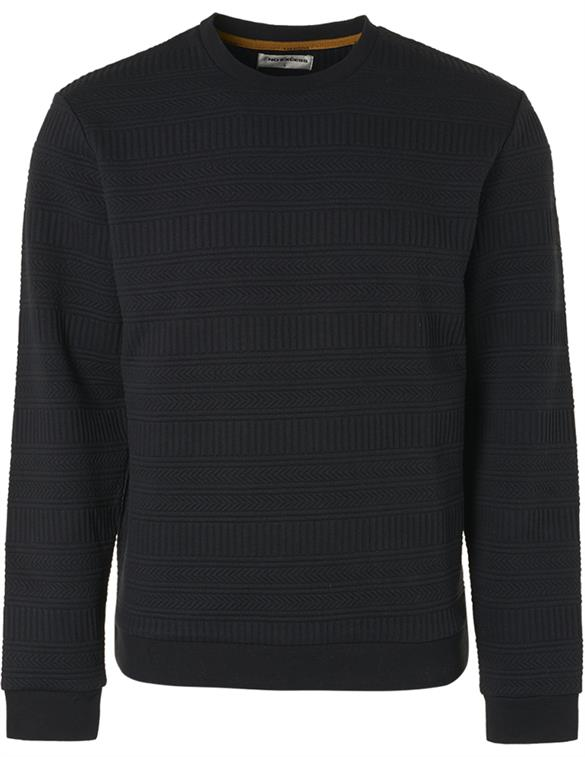 No Excess Sweater Crewneck Fancy Jacquard 97100718
