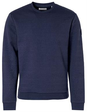 No Excess Sweater Crewneck Fancy Jacquard 97100918