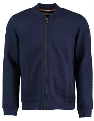 No Excess Sweater Full Zip Jacquard 97100935