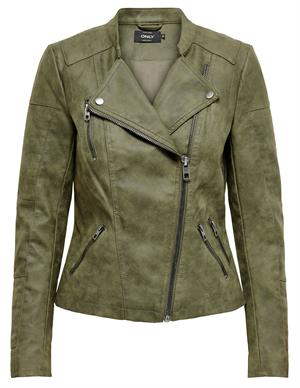 Only onlAVA FAUX LEATHER BIKER OTW NOOS 15102997