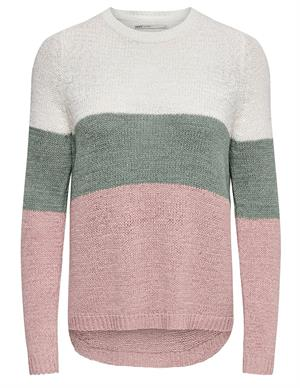 Only ONLGEENA L/S BLOCK PULLOVER KNT NOO 15161415