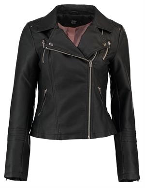 Only onlGEMMA FAUX LEATHER BIKER OTW NOO 15153079