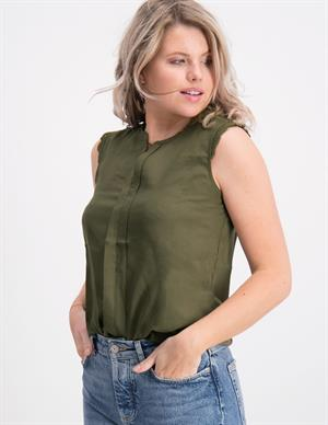 Only onlKIMMI S/L TOP WVN NOOS 15157656