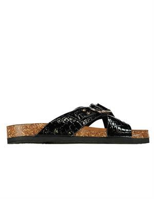 Only ONLMAXI-2 PU CROC CROSSOVER SANDAL 15225476