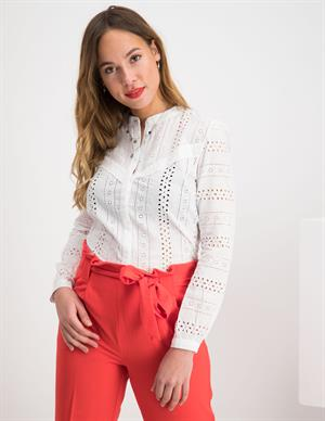 Only ONLMIRIAM LS EMB ANGLAISE BLOUSE DN 15169835