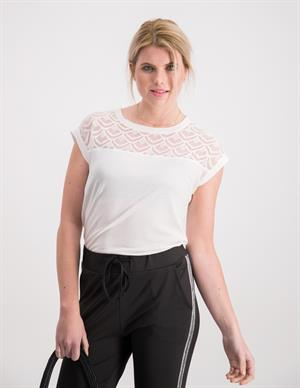 Only onlNICOLE S/S MIX TOP NOOS 15151008