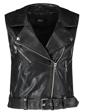 Only ONLVERA FAUX LEATHER WAISTCOAT OTW 15239240