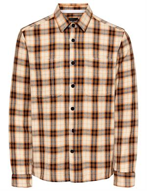 ONLY & SONS ONSBRODY LS REG HEAVY CHECK SHIRT 22017246