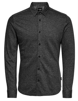 ONLY & SONS ONSGABRIEL LS KNITTED MELANGE SHIRT 22015055