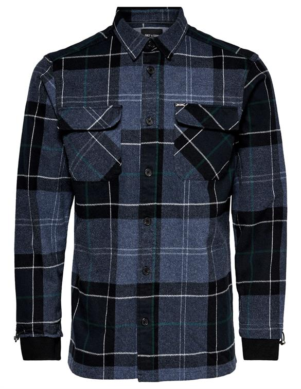 ONLY & SONS ONSJACOB LS RIB DETAIL SHIRT 22018212