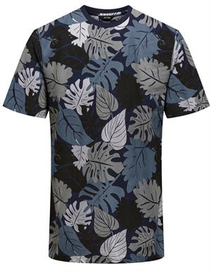 ONLY & SONS ONSKENA LIFE REG SS AOP TEE 22020075