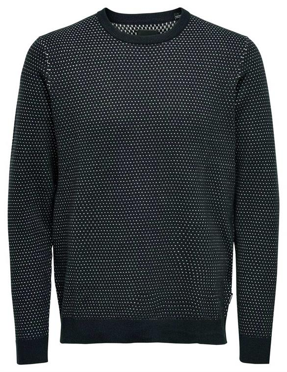 ONLY & SONS ONSLARS 12 JAQ CREW NECK KNIT 22016694