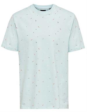 ONLY & SONS ONSPAXON LIFE REG AOP TEE 22020969
