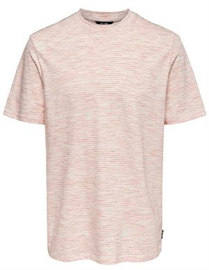 ONLY & SONS ONSPILE REG SS INJECTION TEE 22019722